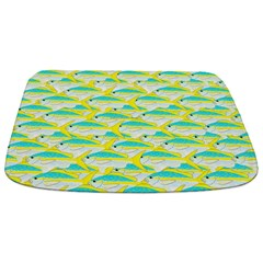 Yellowtail Snapper fish pattern12b Bathmat