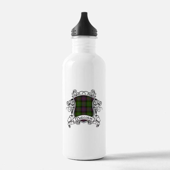 Malcolm Tartan Shield Water Bottle