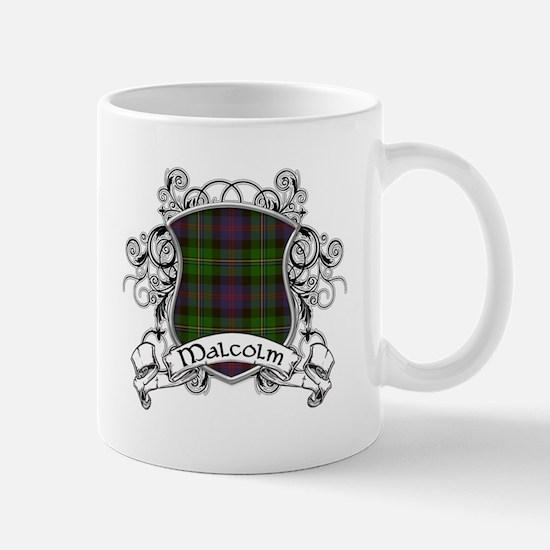 Malcolm Tartan Shield Mug
