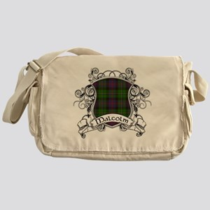 Malcolm Tartan Shield Messenger Bag