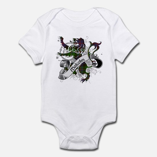Malcolm Tartan Lion Infant Bodysuit