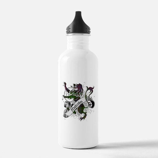 Malcolm Tartan Lion Water Bottle