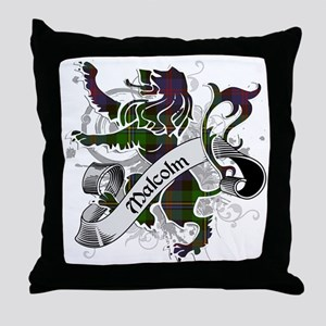 Malcolm Tartan Lion Throw Pillow
