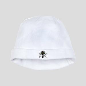 Malcolm Tartan Cross baby hat