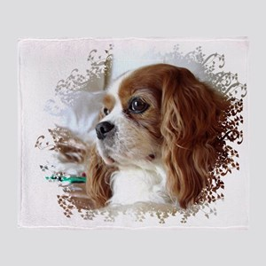 Cavalier King Charles Spaniel Throw Blanket