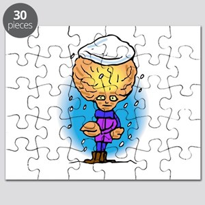 Snow Covered Alien Brother Puzzle