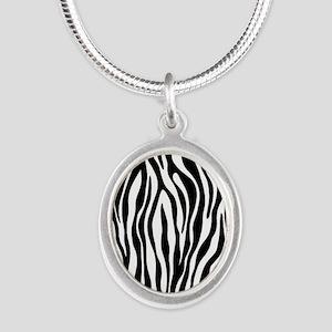 Zebra Print Necklaces