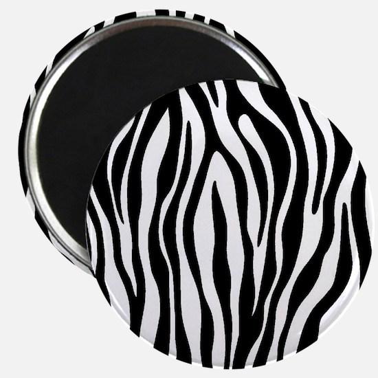 Zebra Print Magnets