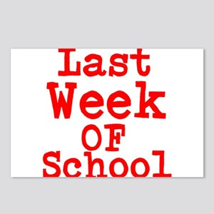 Last Week of School Postcards (Package of 8)