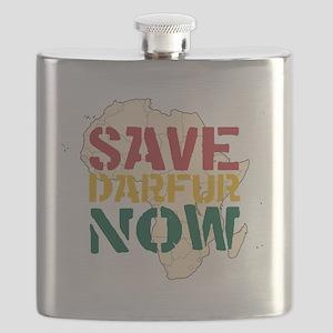 Save Darfur Now Flask