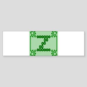 Celtic Z Bumper Sticker