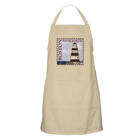 Boston Massachusetts BBQ Apron