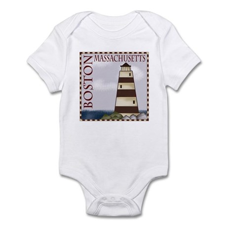 Boston Massachusetts Infant Bodysuit