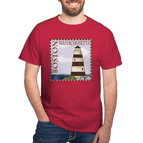 Boston Massachusetts Dark T-Shirt
