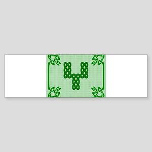 Celtic Y Bumper Sticker