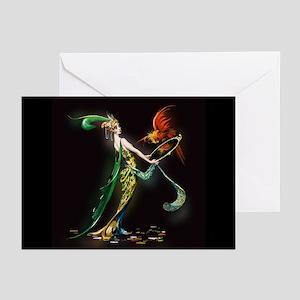 Mavis Vivadou Cover Lady Greeting Cards (Pk of 10)