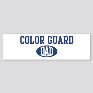 Color Guard dad Bumper Sticker