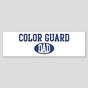 Color Guard dad Bumper Sticker