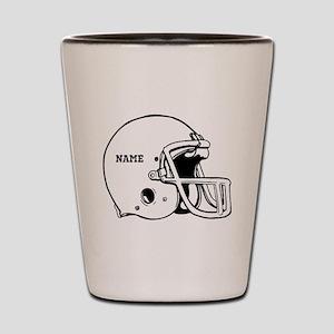 Customize a Football Helmet Shot Glass