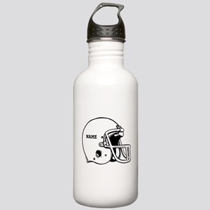 Customize a Football Helmet Water Bottle
