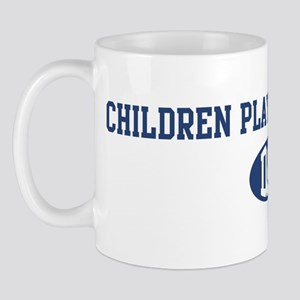 Children Playground Sport dad Mug