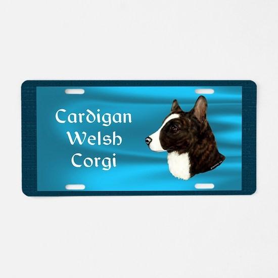 Cardigan Welsh Corgi Aluminum License Plate