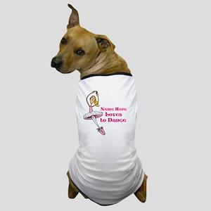 Custom Dancer Design Dog T-Shirt