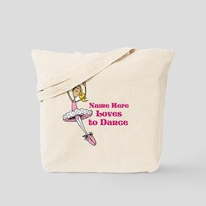 Custom Dancer Design Tote Bag