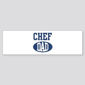 Chef dad Bumper Sticker