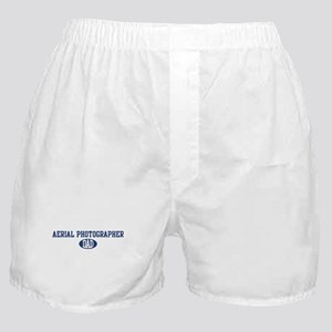Aerial Photographer dad Boxer Shorts
