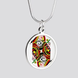 Queen of Clubs Necklaces