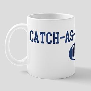 Catch-As-Can-Catch dad Mug