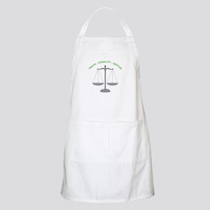 Truth-Equality-Justice Apron
