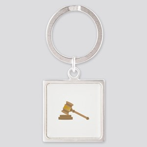Judges Gavel Keychains