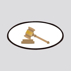 Judges Gavel Patches