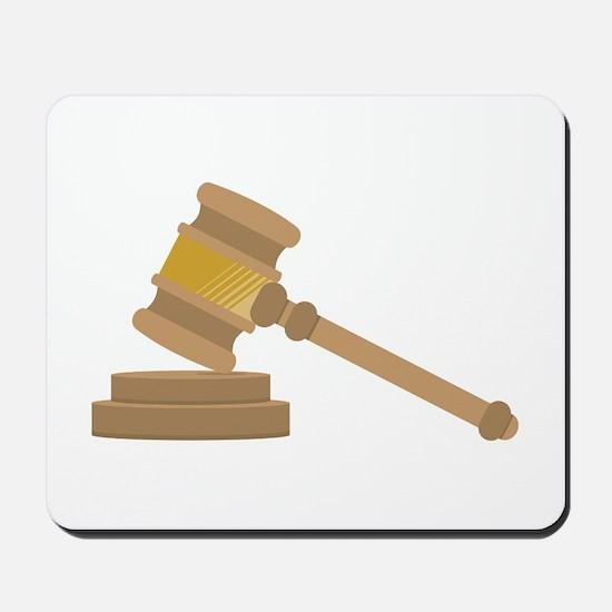 Judges Gavel Mousepad