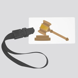 Judges Gavel Luggage Tag
