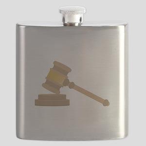 Judges Gavel Flask