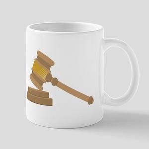 Judges Gavel Mugs