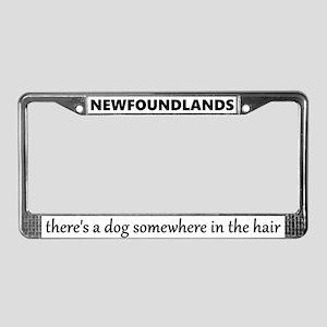 Newfoundland License Plate Frame