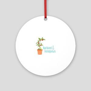 Nurtured & Homegrown Ornament (Round)