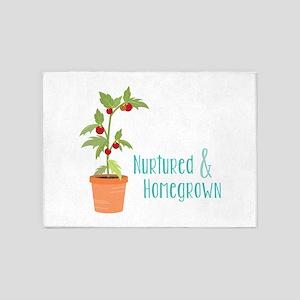 Nurtured & Homegrown 5'x7'Area Rug