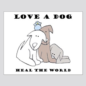 Love a Dog Small Poster