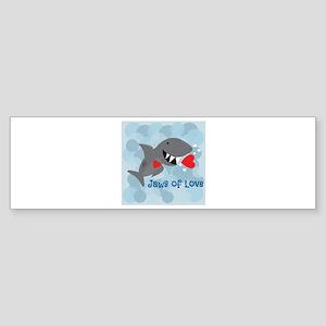 Jaws Of Love Bumper Sticker