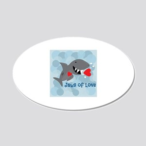 Jaws Of Love Wall Decal