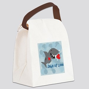 Jaws Of Love Canvas Lunch Bag