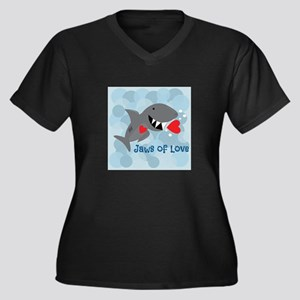 Jaws Of Love Plus Size T-Shirt