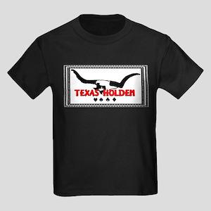 Texas Longhorns Holdem Ash Grey T-Shirt