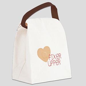 Fixer Upper Canvas Lunch Bag