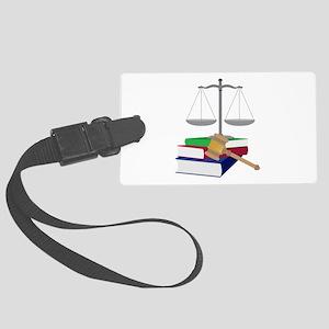 Lawyer Symbols Luggage Tag
